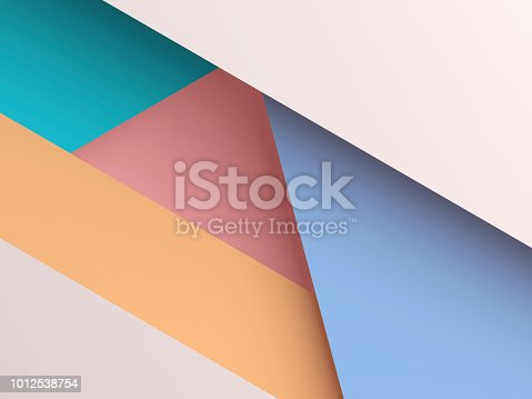 istock Abstract colorful polygonal background cg 1012538754