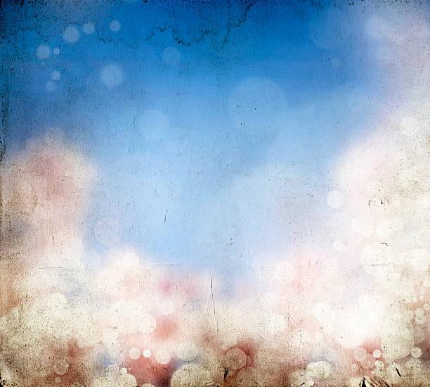 abstrakte farbenfrohe frühling hintergrund-vintage foto - schöne osterbilder stock-fotos und bilder