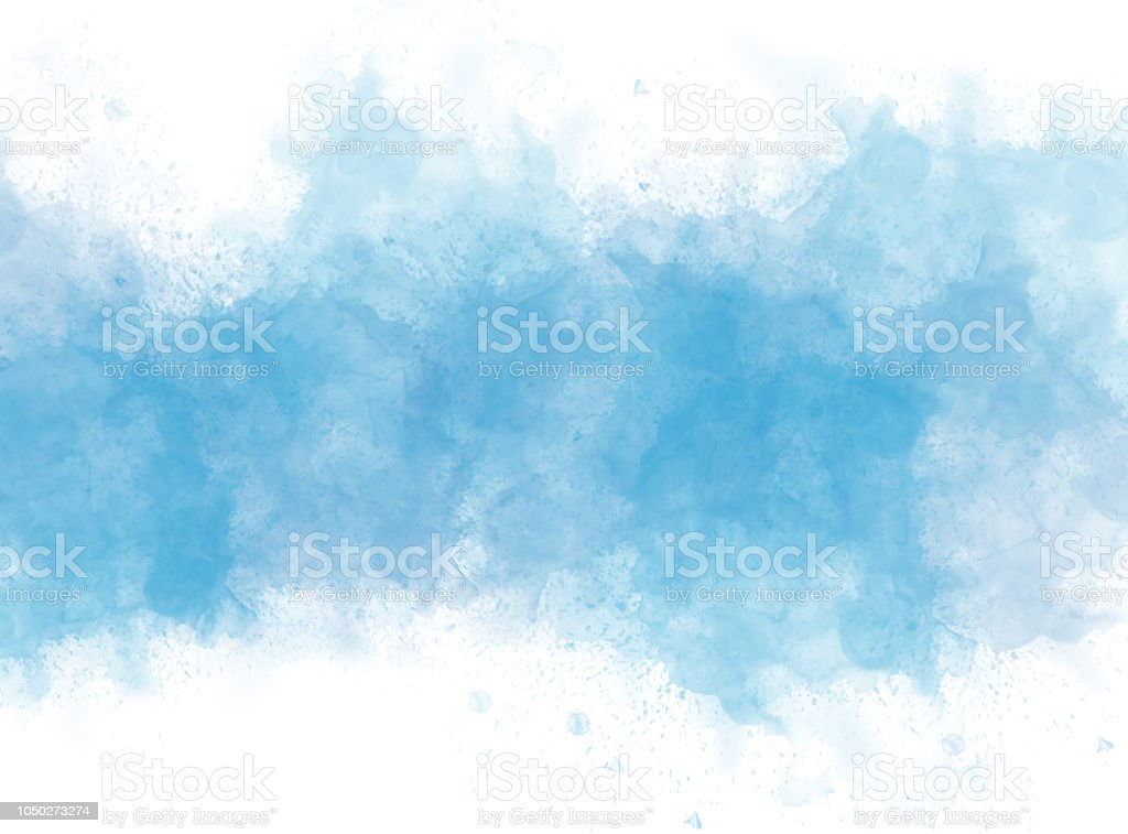 abstract colorful watercolor illustration painting background. stock photo