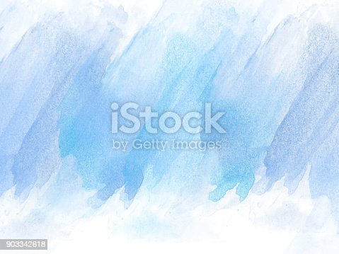 istock Abstract Colorful watercolor painting  background, Colorful brush background. 903342618