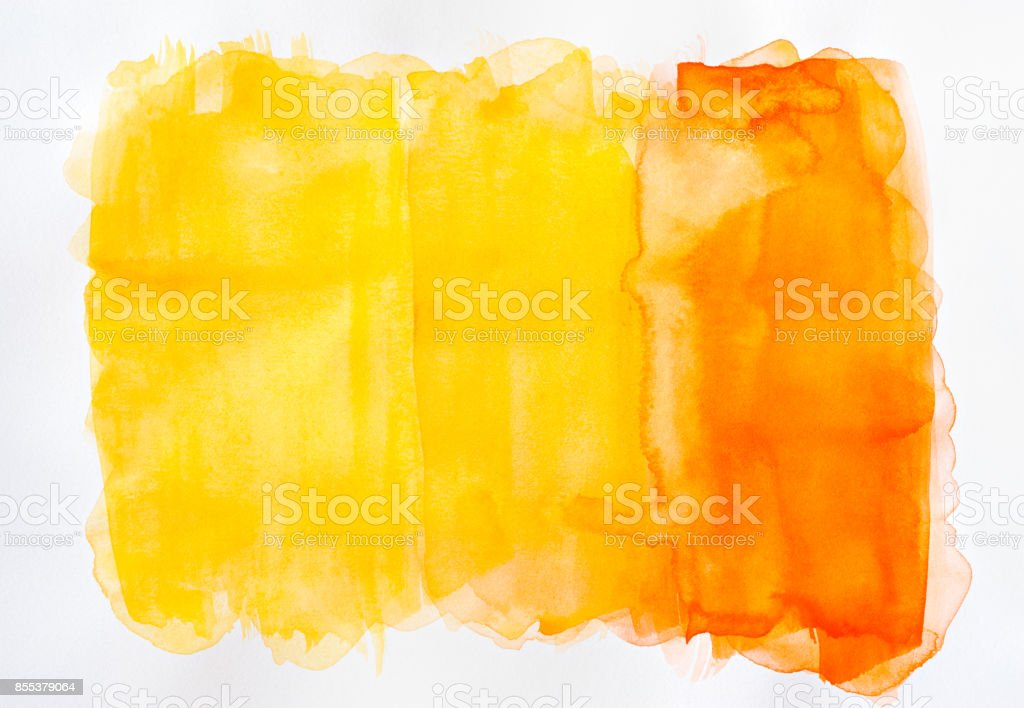 Abstract colorful watercolor painting background stock photo
