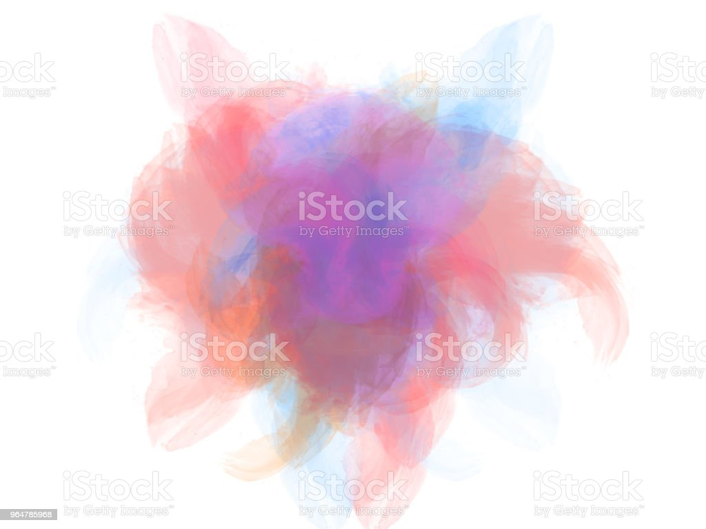 Abstract Colorful watercolor painting background. royalty-free stock photo