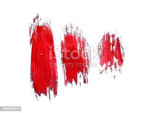 istock abstract colour paintbrush on white paper smear hatch 936685012