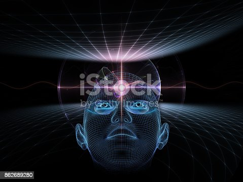 istock abstract composition, concept spirituality, mind, science 862689280