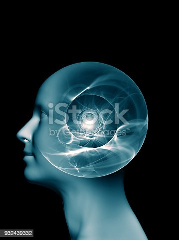 istock abstract composition, concept spirituality, mind, science 932439332