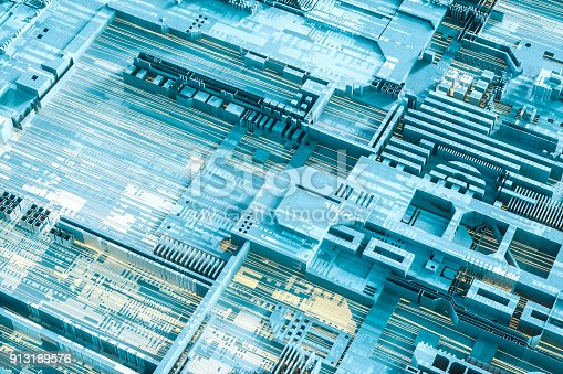 Abstract computer technology background.