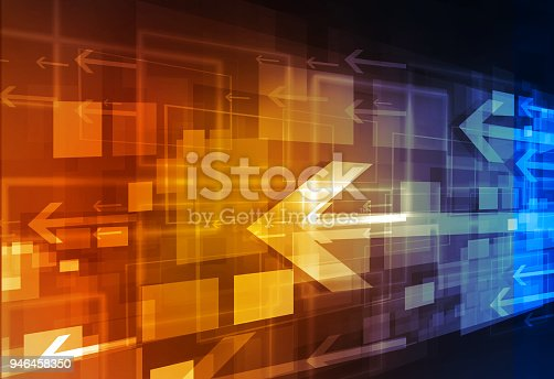 istock Abstract concept of business growth 946458350
