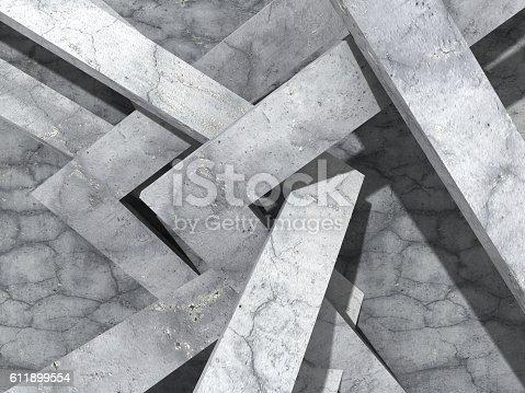 611897876istockphoto Abstract concrete architecture geometric design background 611899554
