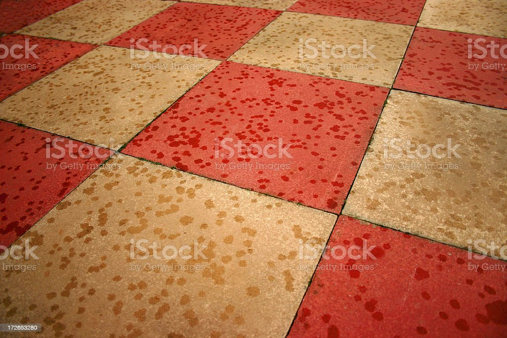 abstract concrete slabs stock photo