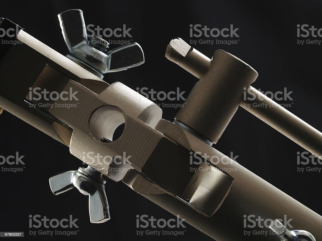 Abstract connection device royalty-free stock photo