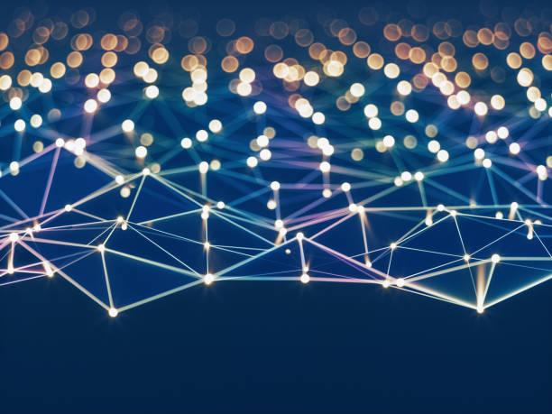 Abstrakte Verbindungen Technologie Hintergrund – Foto