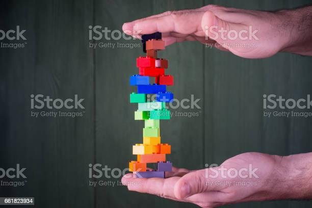 Abstract construction from colorful plastic stack blocks picture id661823934?b=1&k=6&m=661823934&s=612x612&h=eqftnalyo65slnj8z 5gj4ypgh1kspylumhojwcffxk=