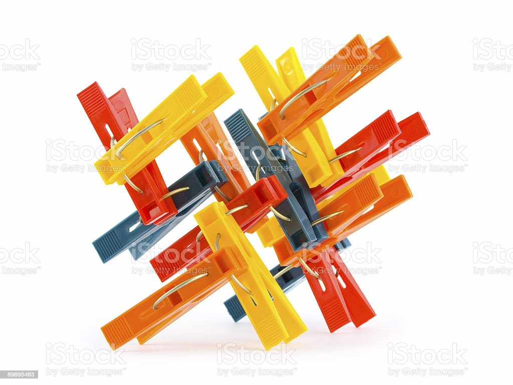 Abstract construction royalty-free stock photo