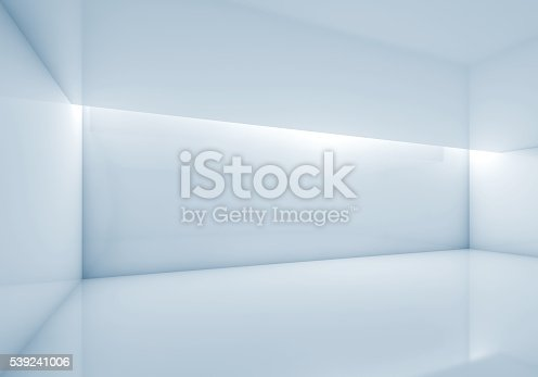 istock Abstract contemporary interior, 3d render 539241006