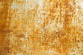 Abstract corroded rusty metal background texture, gray brown