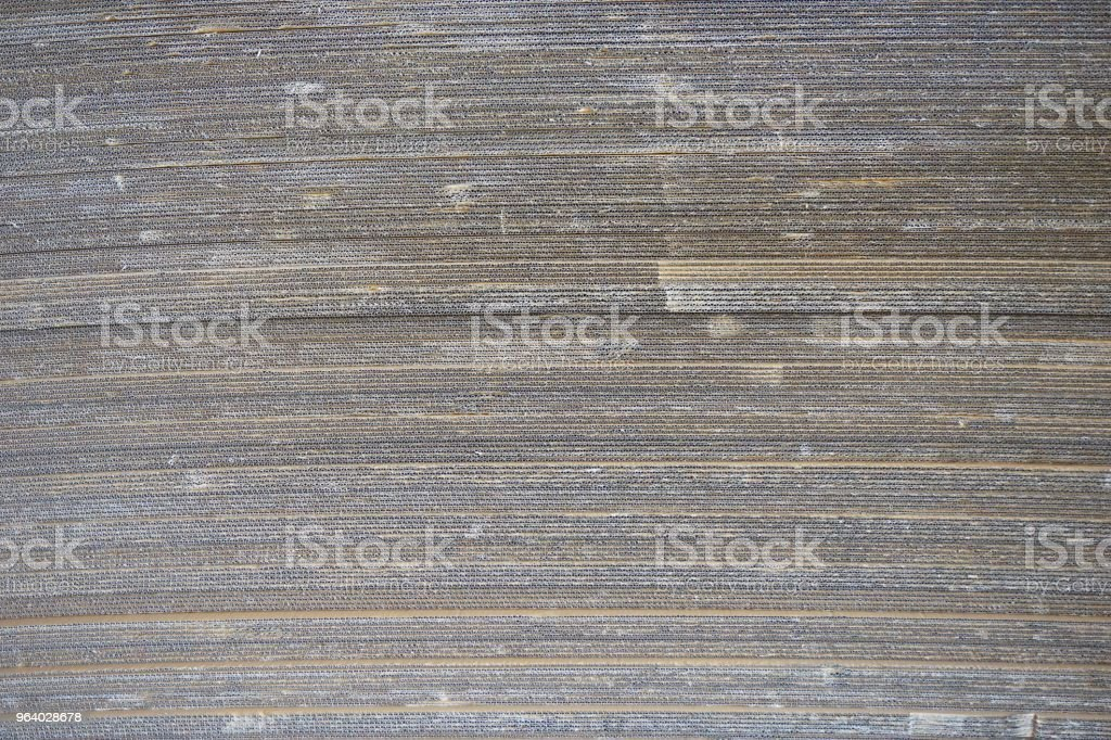 abstract corrugated paper - Royalty-free Art Stock Photo