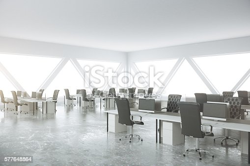 istock Abstract coworking office 577648864