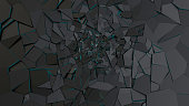 Abstract crack surface