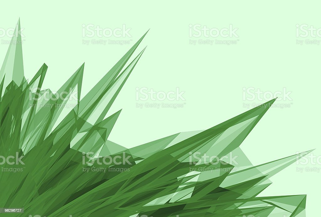 Abstract crystal royalty-free stock photo