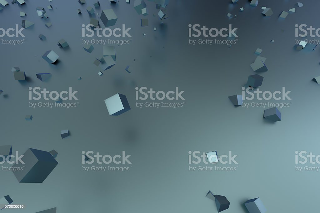 abstract cube  background stock photo