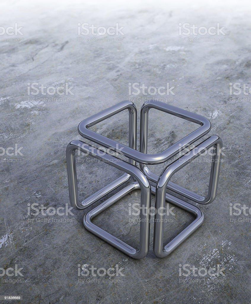 3 D abstrakt Würfel – Foto