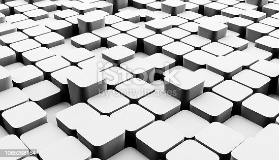 639291528 istock photo Abstract cubes background 1085268154