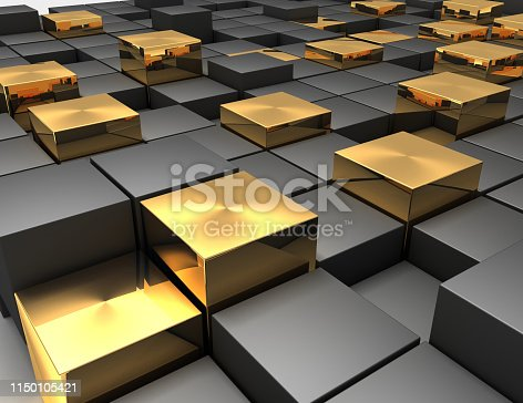 istock abstract cubes background 1150105421