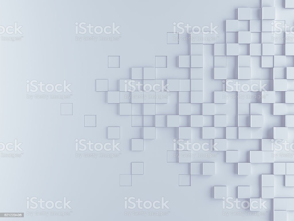 Abstract cubes background bildbanksfoto