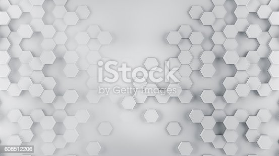 istock Abstract cubes background 608512206