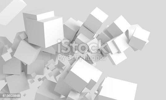 511983606 istock photo Abstract cubes background 615603848