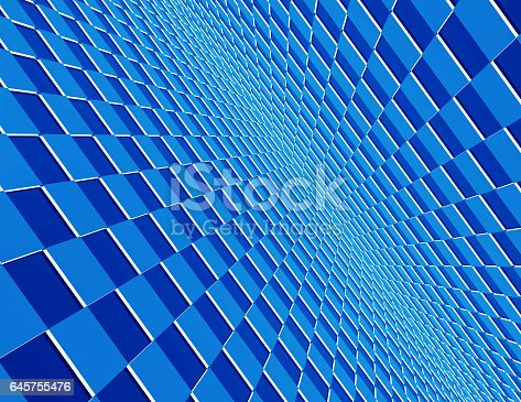 istock Abstract cubes background 645755476