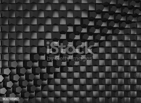 istock Abstract cubes background 905246982