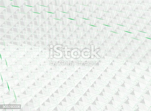 istock Abstract cubes background 905290006