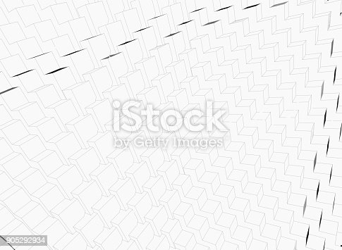 istock Abstract cubes background 905292934