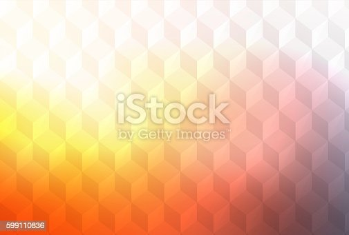 508795172istockphoto Abstract cubes retro styled colorful background 599110836