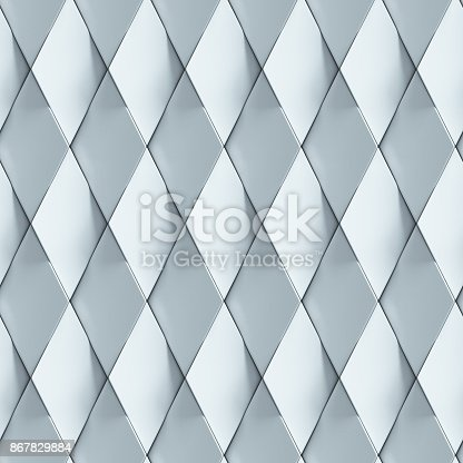 istock Abstract cubical seamless 3d background 867829884