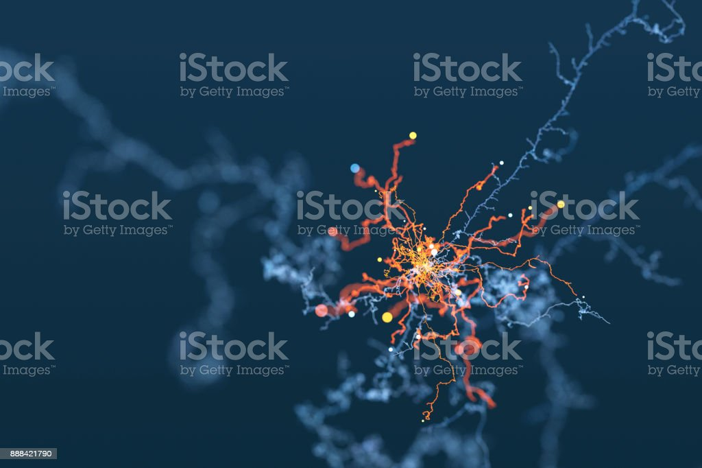 Abstract curly tendrils background stock photo
