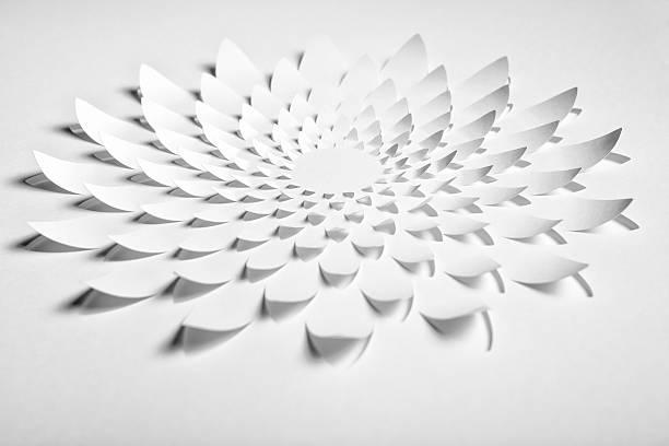 Abstrait Cuttet Fleur en papier - Photo