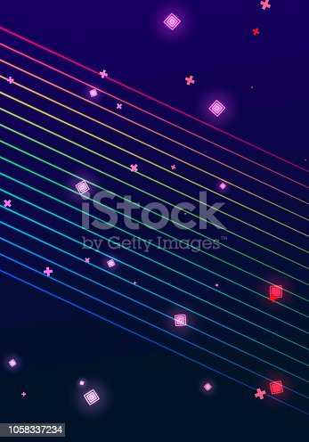 istock Abstract Cyber Technology Background 1058337234