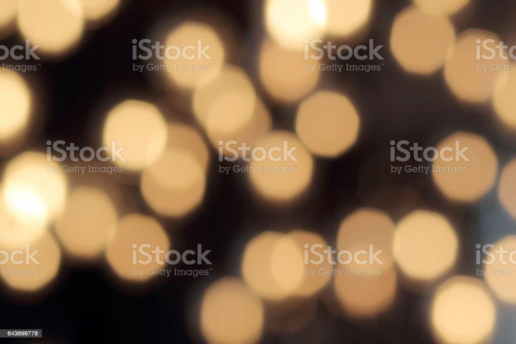 abstrakte dunklen Hintergrund mit defokussierten warmes Licht – Foto