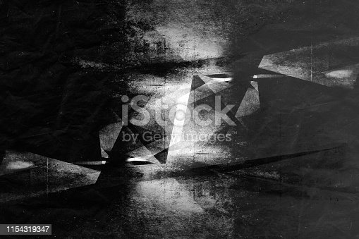 istock Abstract dark concrete background 1154319347