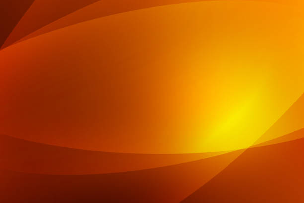 Abstract Dark Orange And Yellow Background Of Abstract With