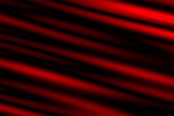 Abstract dark red and black blurred light effect stock photo