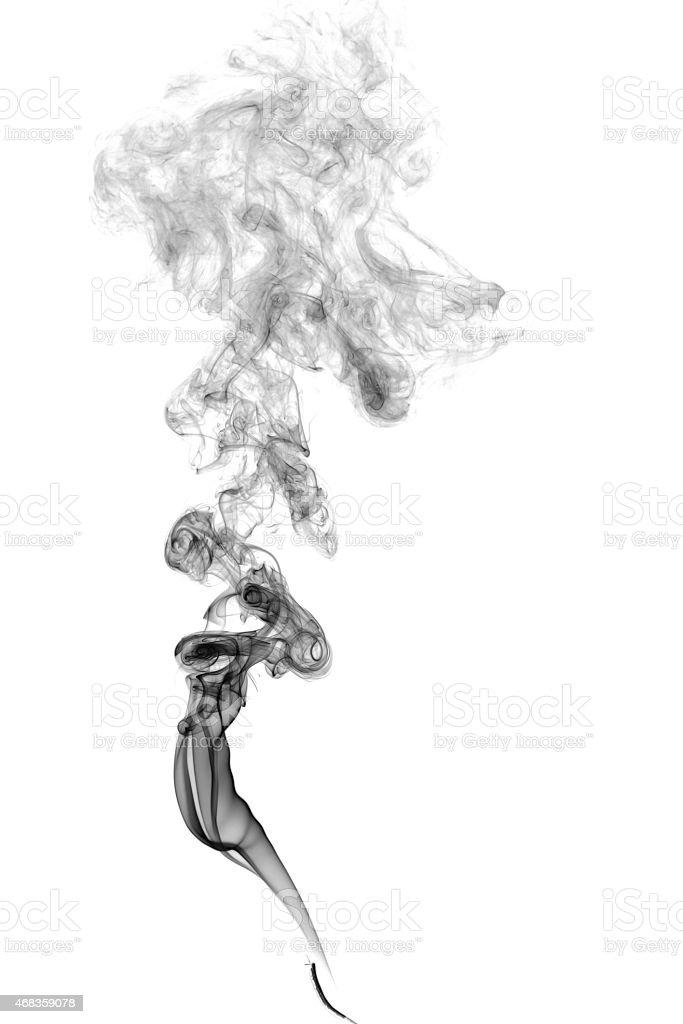 Abstract dark smoke royalty-free stock photo