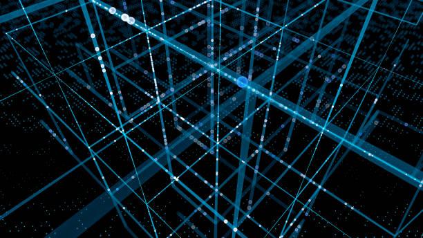 Abstract data concept stock photo