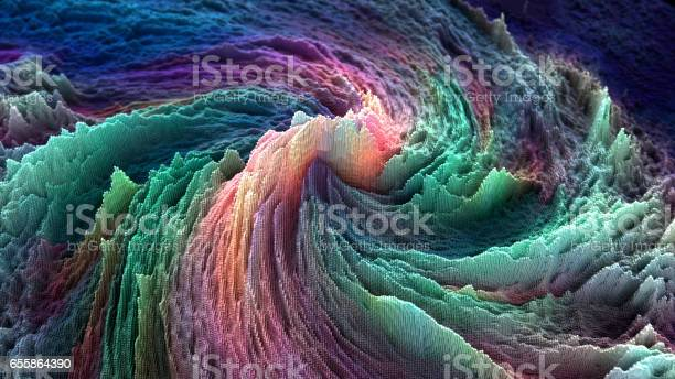 Abstract Data Stock Photo - Download Image Now