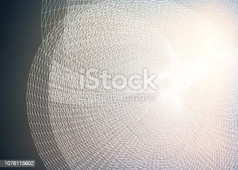 846266794 istock photo Abstract data representation 1076115602
