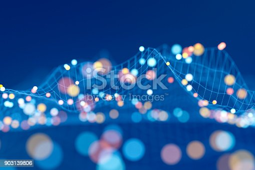 istock Abstract data representation 903139806