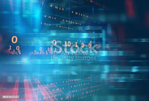 istock abstract defocus digital technology background 868363032