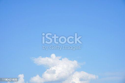 876037346 istock photo Abstract defocused blue soft background 1190421833